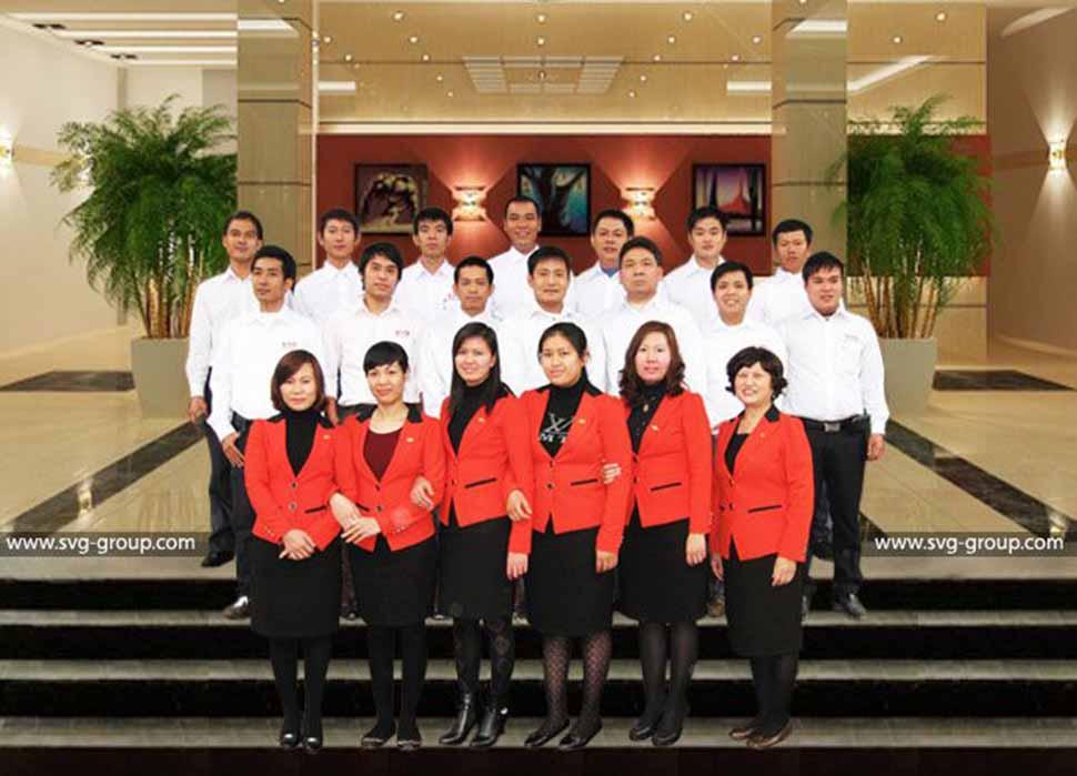 Đội ngũ Công ty CP tư vấn thiết kế và giám định xây dựng Sao Việt