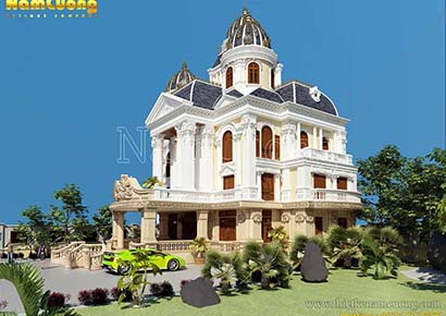 thiết kế biệt thự lâu đài uy tín