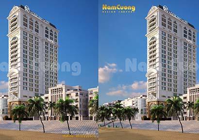 Ấn tượng công trình khách sạn đẹp Hải Phòng