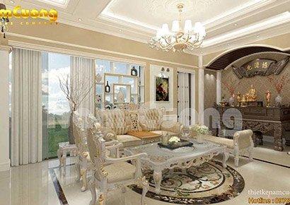 mẫu thiết kế nội thất cho biệt thự