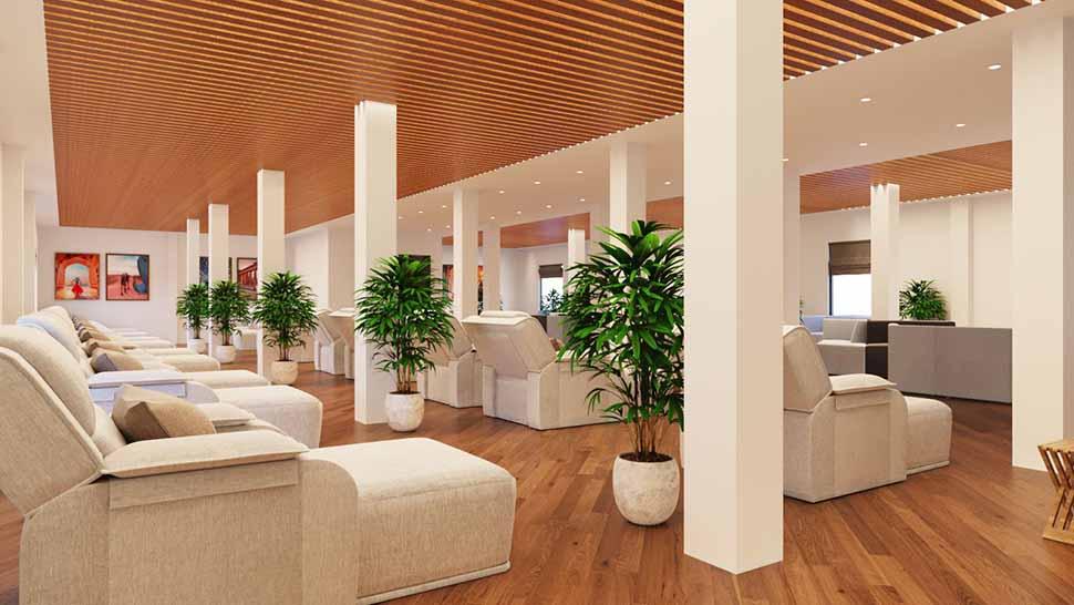 Nguyên lý thiết kế spa 1: Nội thất phải phù hợp với đối tượng khách hàng