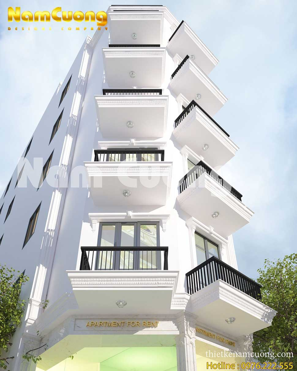 mẫu nhà cao tầng cho thuê