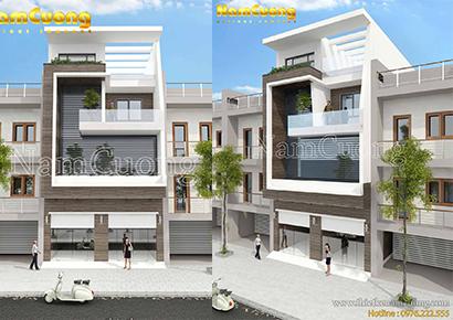 thiết kế nhà phố 8x15m uy tín