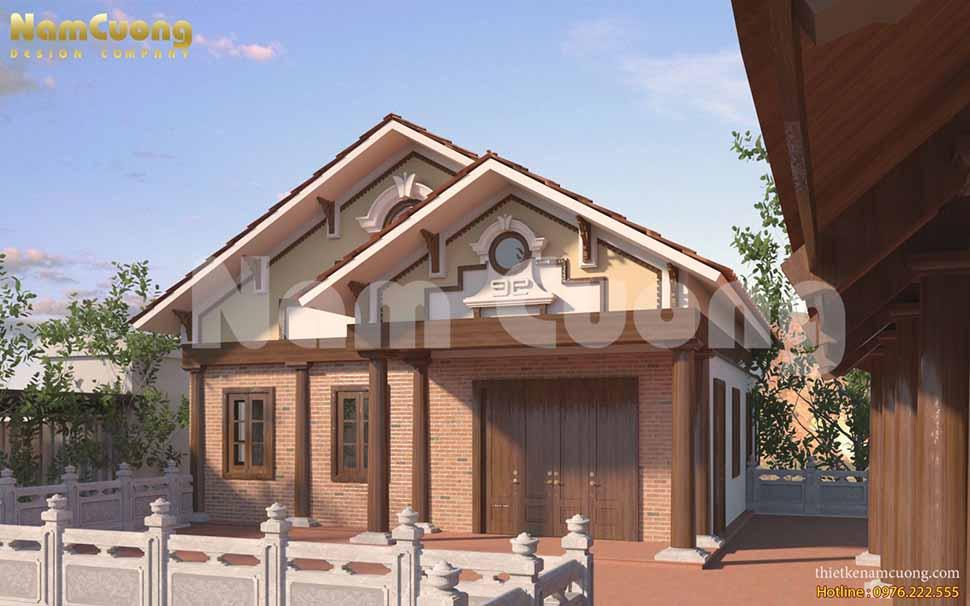 thiết kế nhà thờ cạnh nhà ở