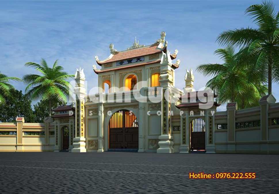 cổng tam quan