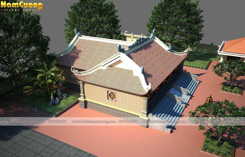 thiết kế nhà thờ họ tại nghệ an