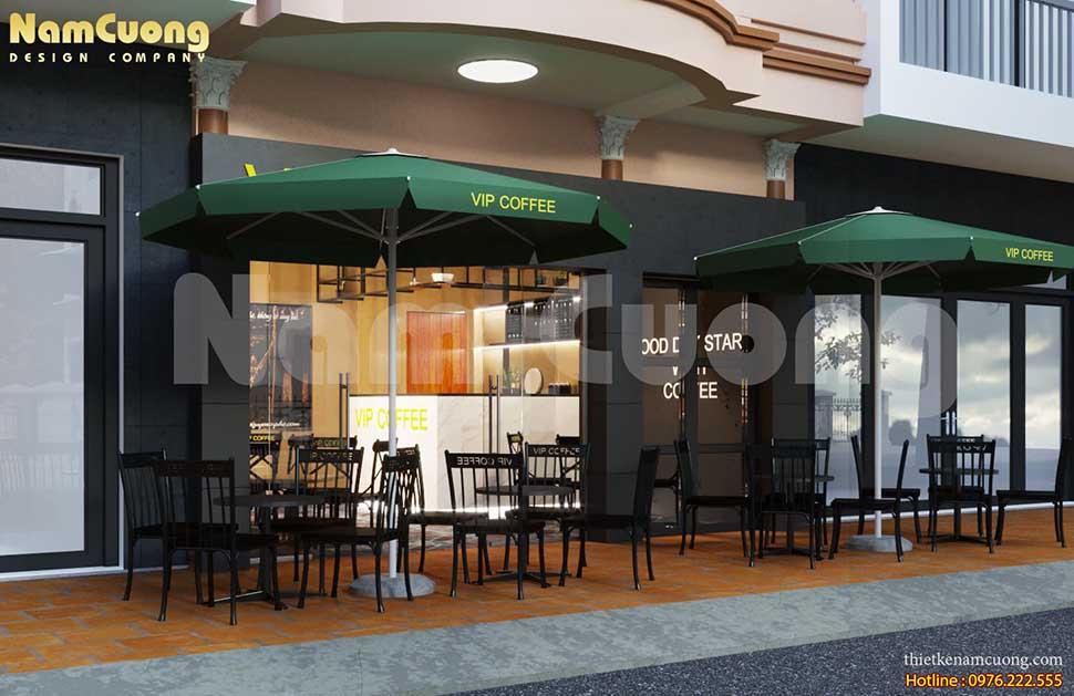 Vẻ đẹp giản dị của quán cafe