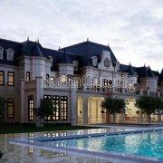 Ngôi biệt thự Châu Âu làm nao lòng người nhìn bởi vẻ đẹp đồ sộ, hoành tráng