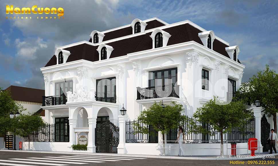 Biệt thự 2 tầng tại Sài Gòn