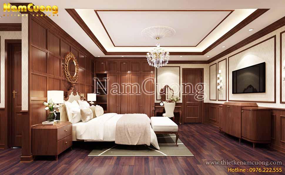 Căn phòng ngủ lãng mạn với những màu sắc pastel ngọt ngào