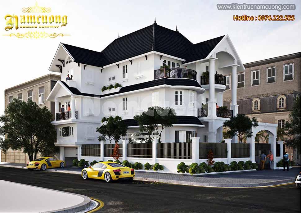 Mẫu biệt thự 3 tầng sang trọng tại Quảng Ninh