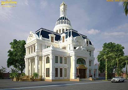 thiết kế biệt thự cổ điển uy tín