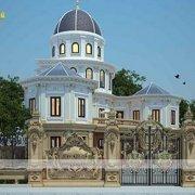Mẫu thiết kế biệt thự lâu đài châu âu tại Sài Gòn