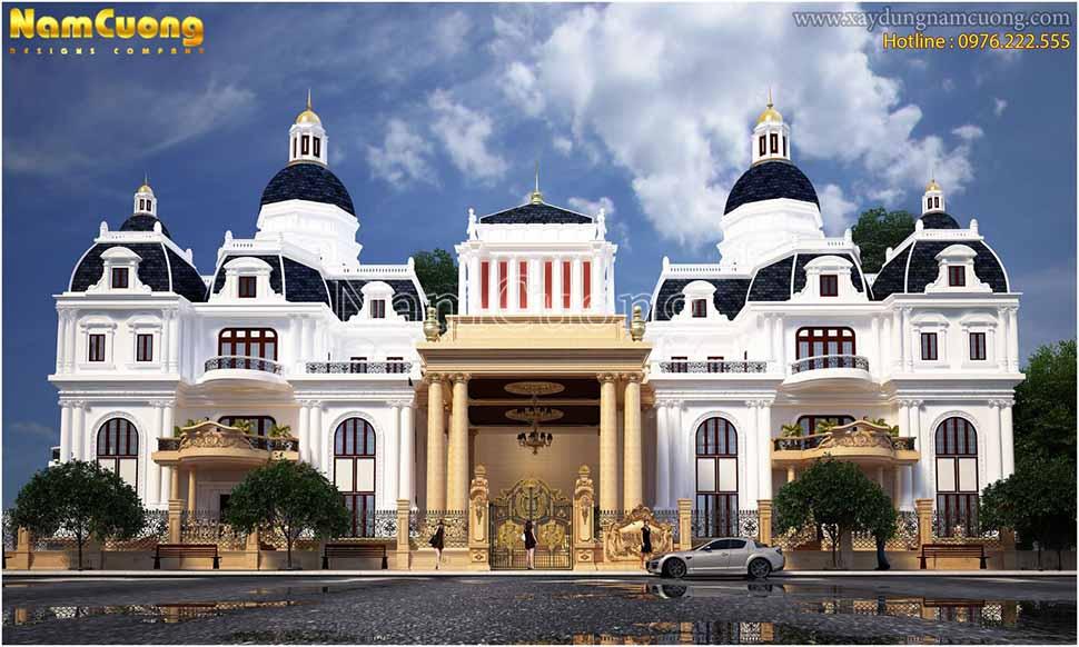 Mẫu biệt thự lâu đài hoành tráng tại Quảng Ninh