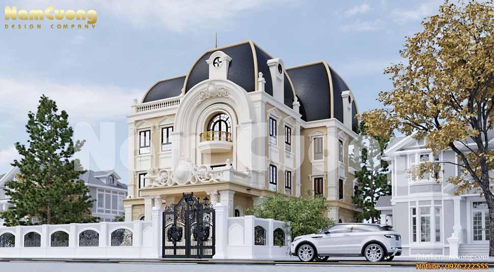 Thiết kế biệt thự tại Sài Gòn