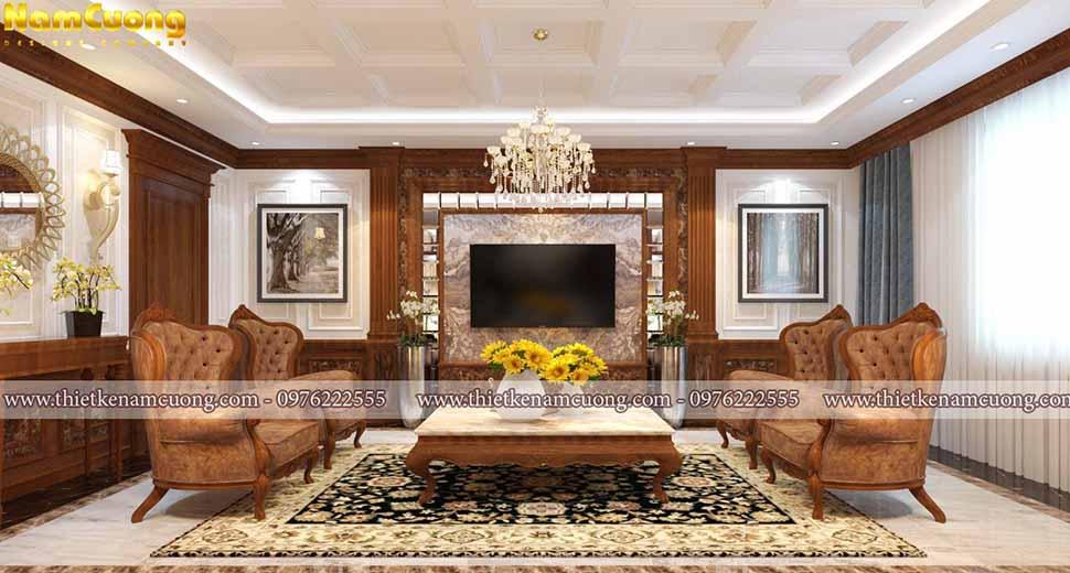 nội thất gỗ cho biệt thự