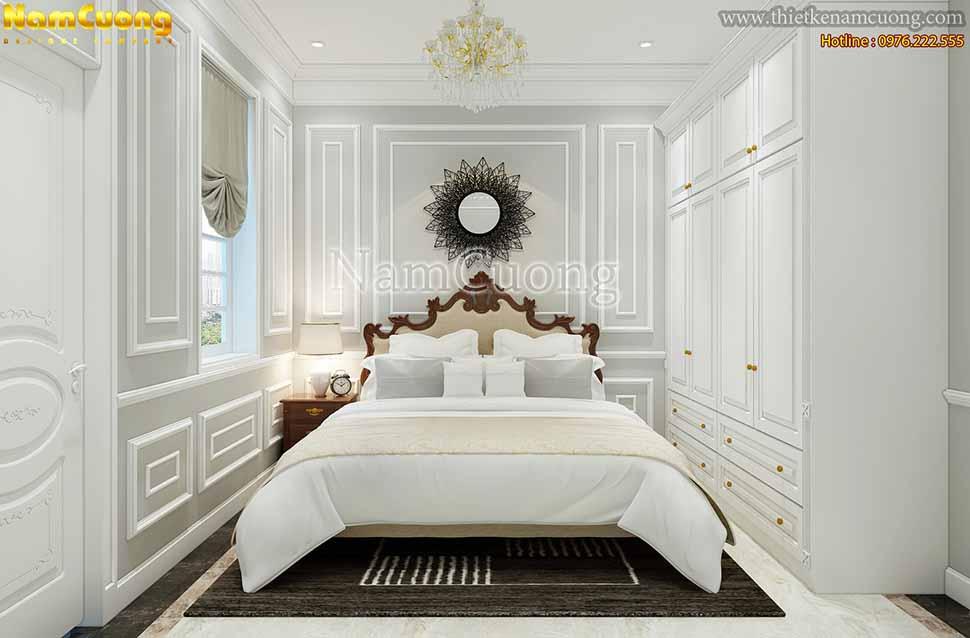 biệt thự màu trắng