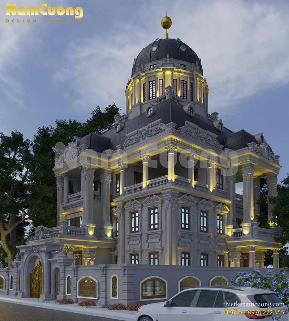 Mẫu biệt thự lâu đài đẳng cấp tại Sài Gòn của chủ đầu tư - anh Mạnh