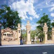 Mẫu thiết kế biệt thự vườn 2 tầng tân cổ điển đẹp tại Hải Phòng