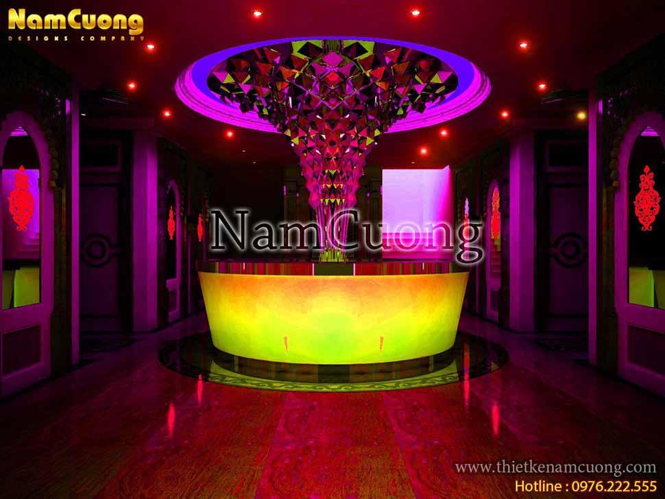 Mẫu thiết kế công trình karaoke tân cổ điển Bảo Trang tại Quảng Ninh