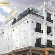 Mẫu thiết kế khách sạn tân cổ điển 4 tầng 2 mặt tiền tại Hải Phòng