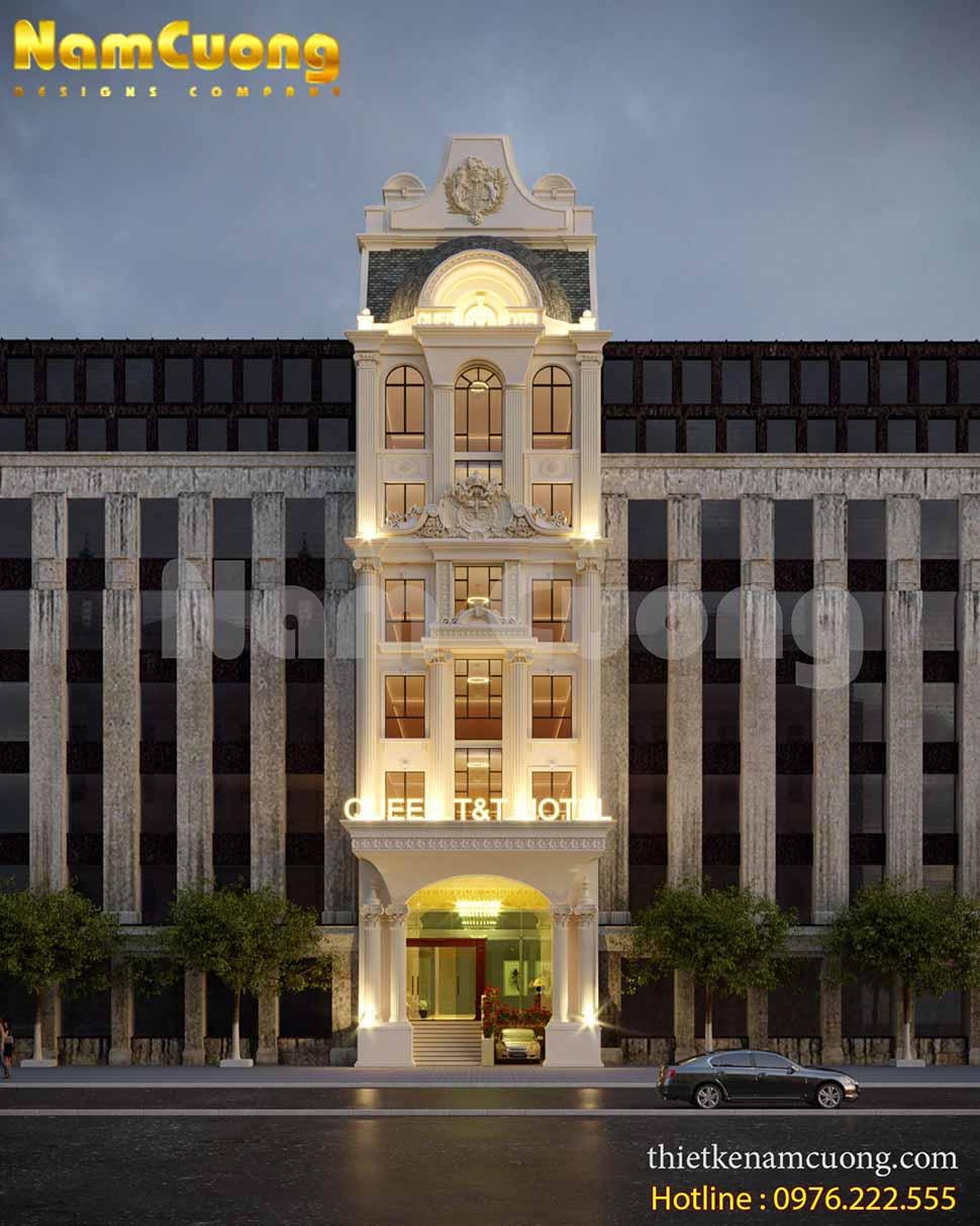Mẫu thiết kế nội thất khách sạn ở Đà Lạt