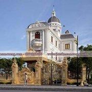 Mẫu thiết kế biệt thự lâu đài triệu đô tại Sài Gòn