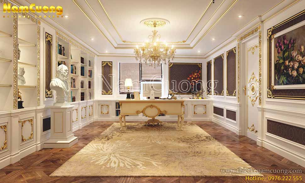 thiết kế mẫu nội thất nhà biệt thự đẹp