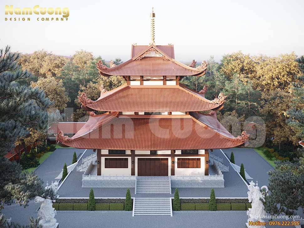 thiết kế chùa