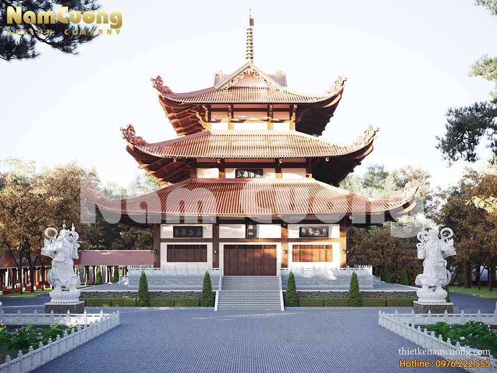 Mẫu thiết kế chùa đẹp nhất