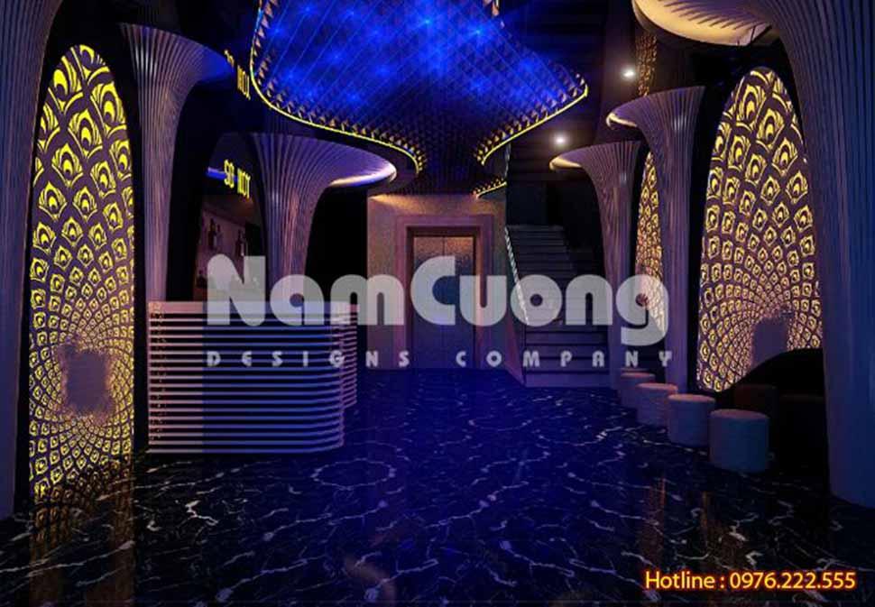 trang trí quán karaoke