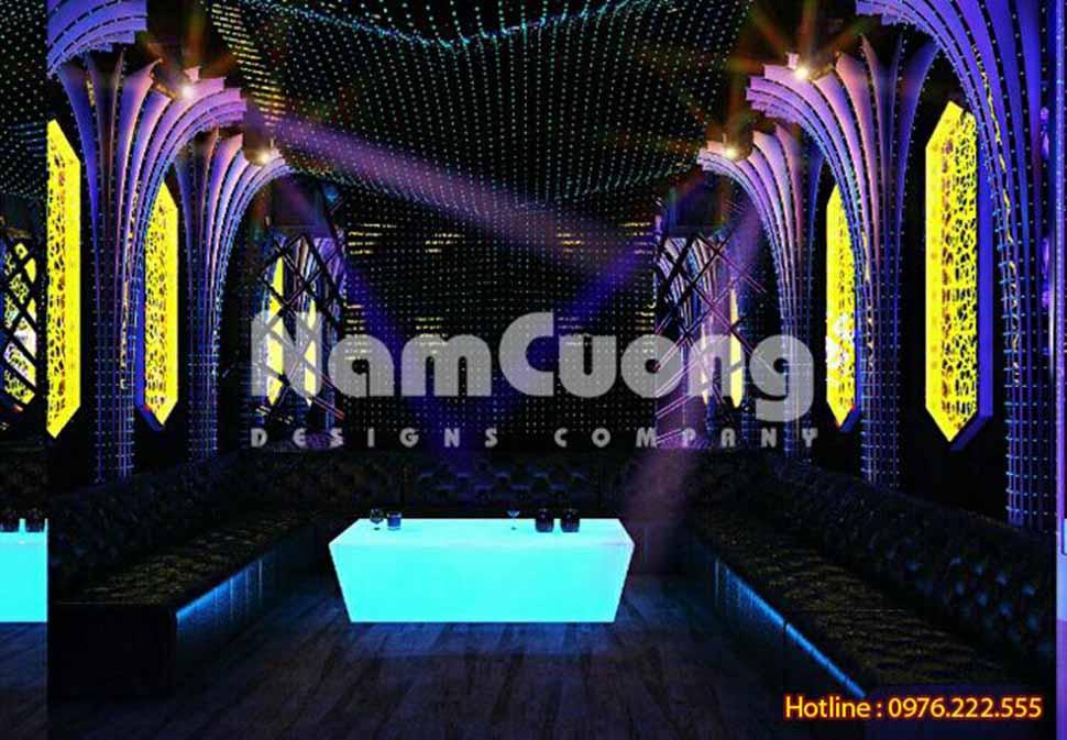 không gian phòng hát karaoke