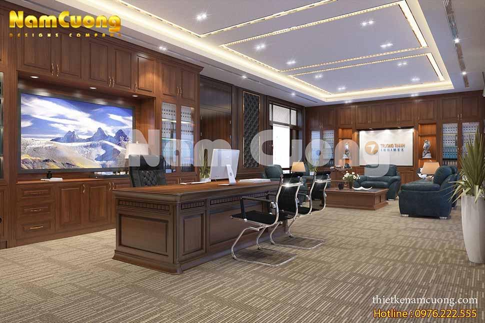 mẫu thiết kế trụ sở cơ quan
