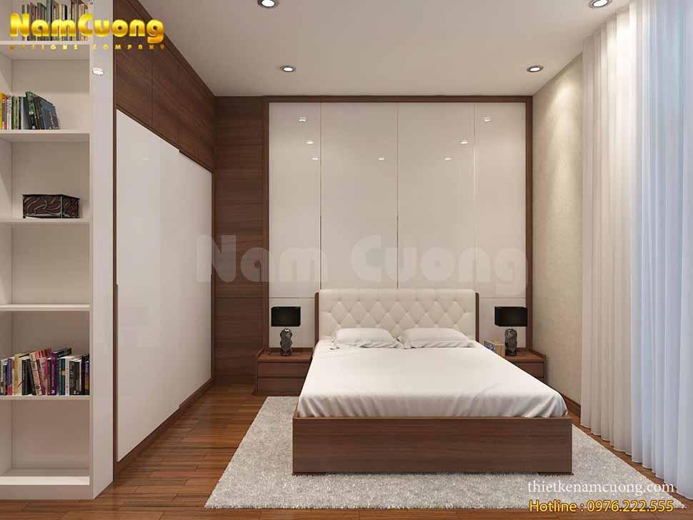 nội thất phòng ngủ nhà ống 4m