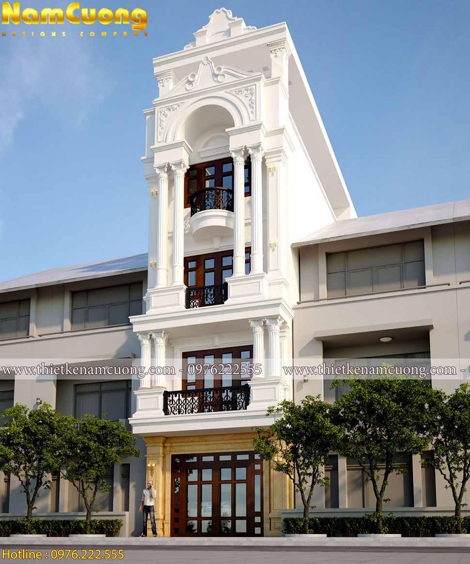kiến trúc nhà phố 5x18m