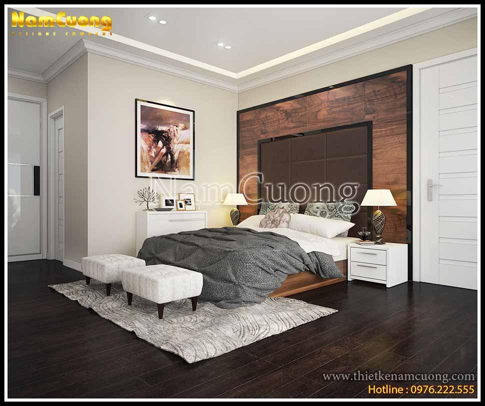 Phòng ngủ cá tính với những gam màu mạnh mẽ