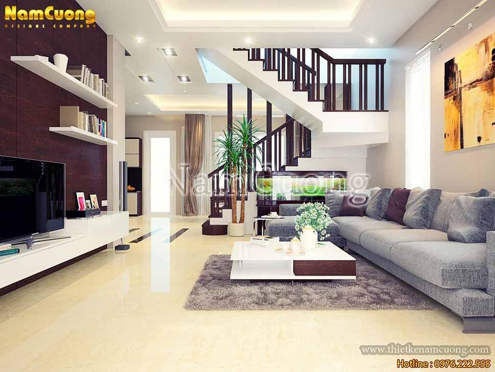 nội thất biệt thự 2 tầng