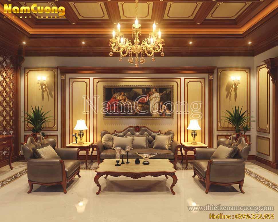 nội thất phòng khách sang trọng