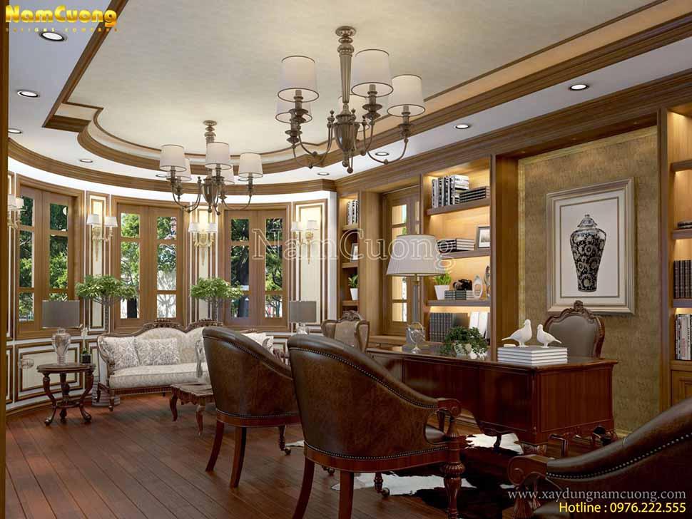 thiết kế nội thất cho biệt thự đẹp
