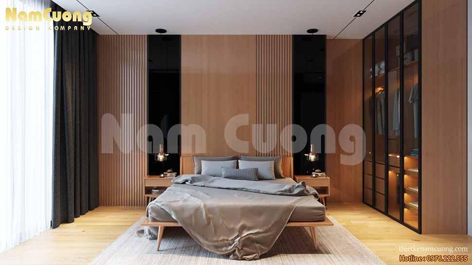 nội thất phòng ngủ bố mẹ hiện đại