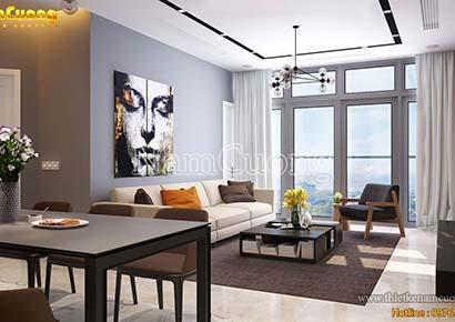 nội thất chung cư 70m2 đẹp
