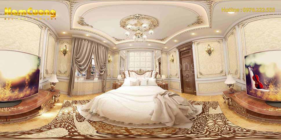 phòng ngủ hoàng gia