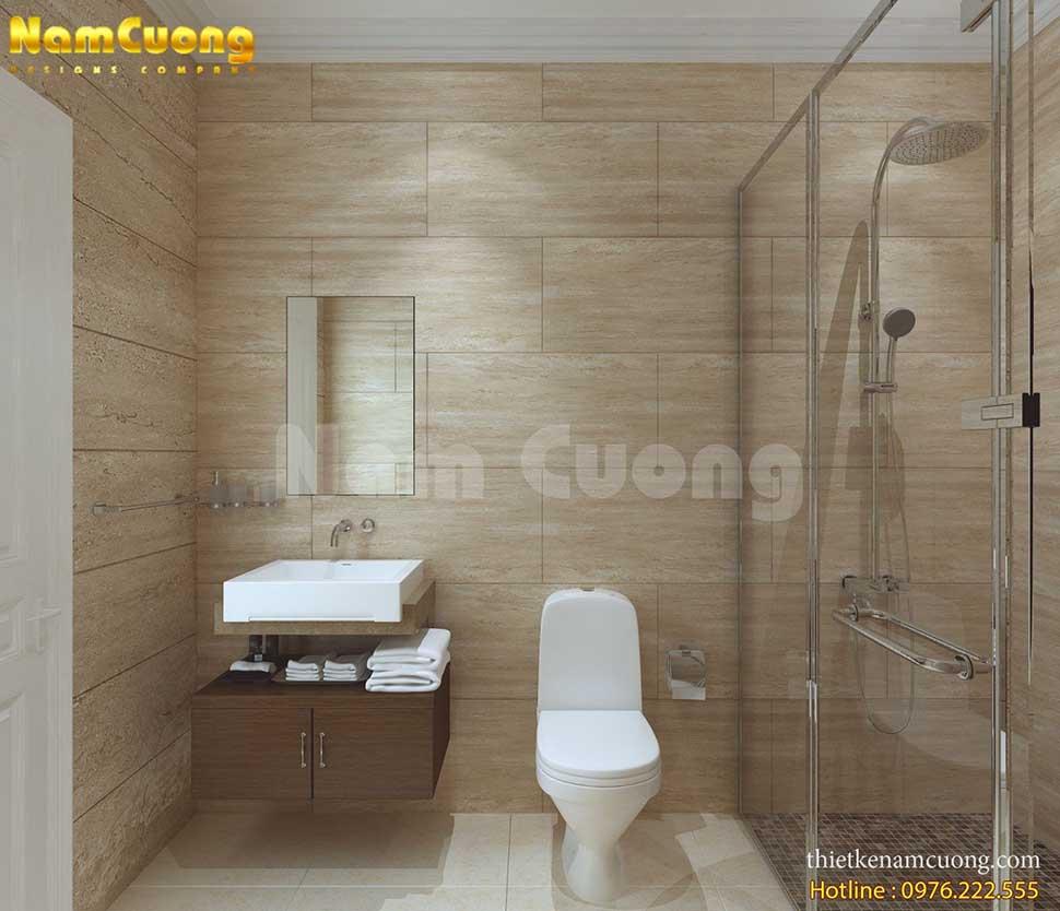 phòng wc nội thất khách sạn mini