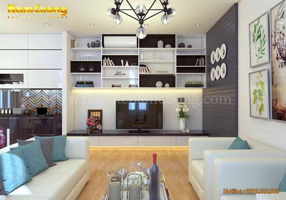 nội thất nhà ống hiện đại