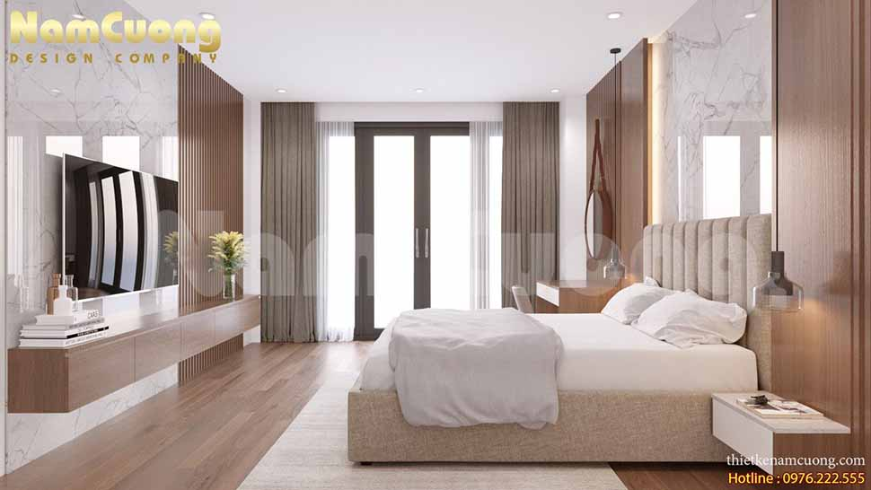 phòng ngủ trong nhà phố
