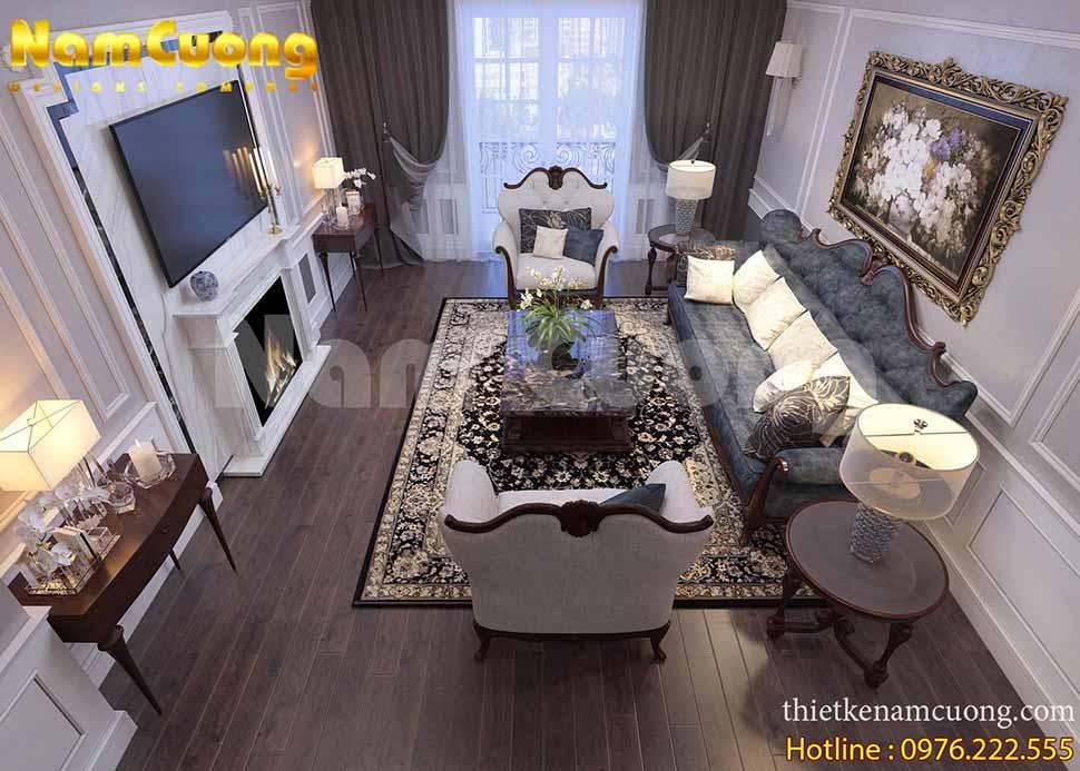 nội thất nhà phố đẹp