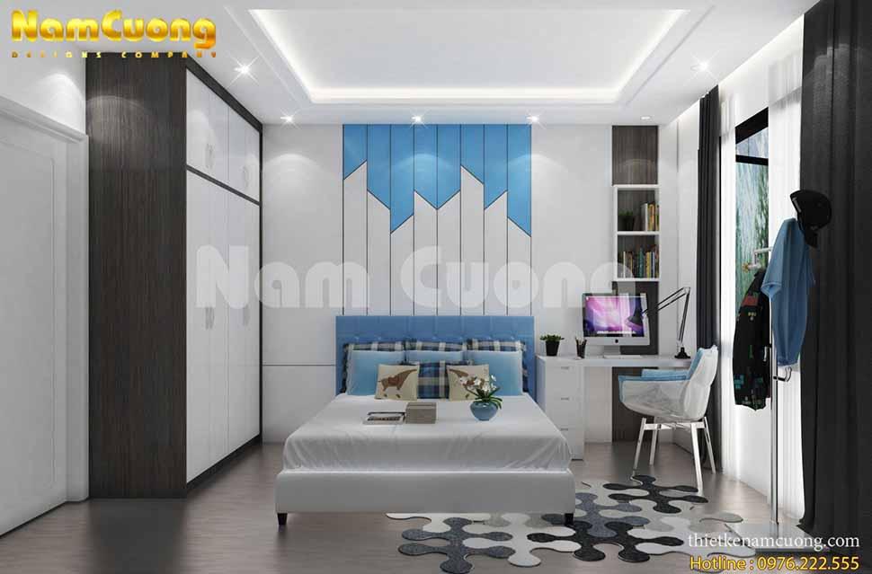 phòng ngủ phong cách nhật bản hiện đại