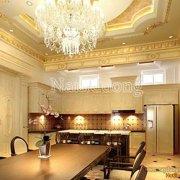 nội thất phòng bếp màu trắng