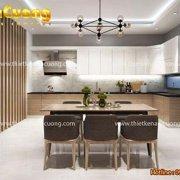 Mẫu nội thất phòng bếp hiện đại, đẹp mắt tại Quảng Ninh