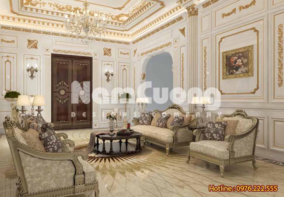 Mẫu nội thất phòng khách đẹp tại Bắc Ninh